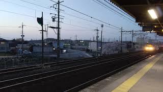 JR西日本 琵琶湖線 L特急ひだ 8K撮影