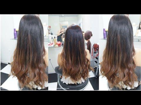 Cabelo Liso E Longo Ombre Hair Loiro