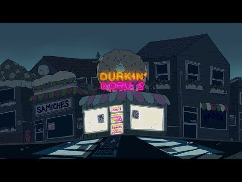 Horror Story ANIMATED - 'I Used to Work the Graveyard Shift at Dunkin' Donuts'