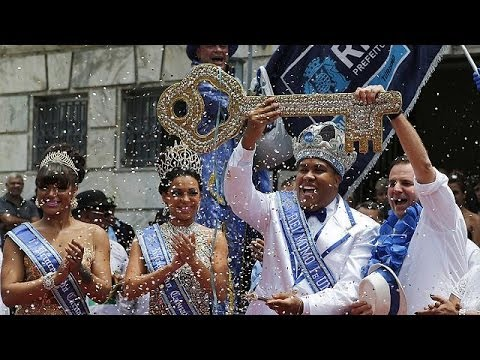 Brazil: Rio in party mood as carnival gets underway