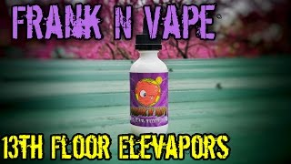 Frank N Vape by 13th Floor Elevapors | E-Juice Review