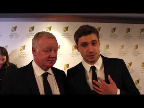 Les Dennis and Oliver Farnworth at the Royal Television Society Programme Awards 2015