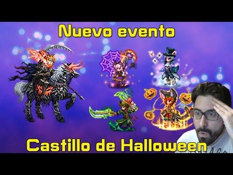 Final fantasy brave exvius:Castillo de Halloween/ pedazo de evento
