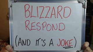 BL ZZARD RESPOND And  Ts A Complete JOKE