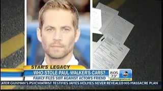 Who Stole Paul Walker's Car Collection?