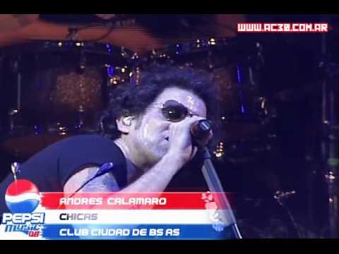 Andrés Calamaro - Chicas    Pepsi Music 08 mp3