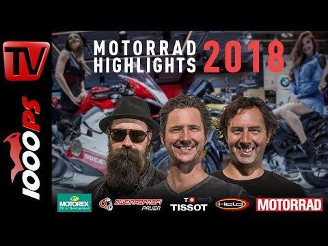 1000PS Live - Die Motorrad Talkshow Folge 4 - Tests und Motorrad Neuheiten für 2018