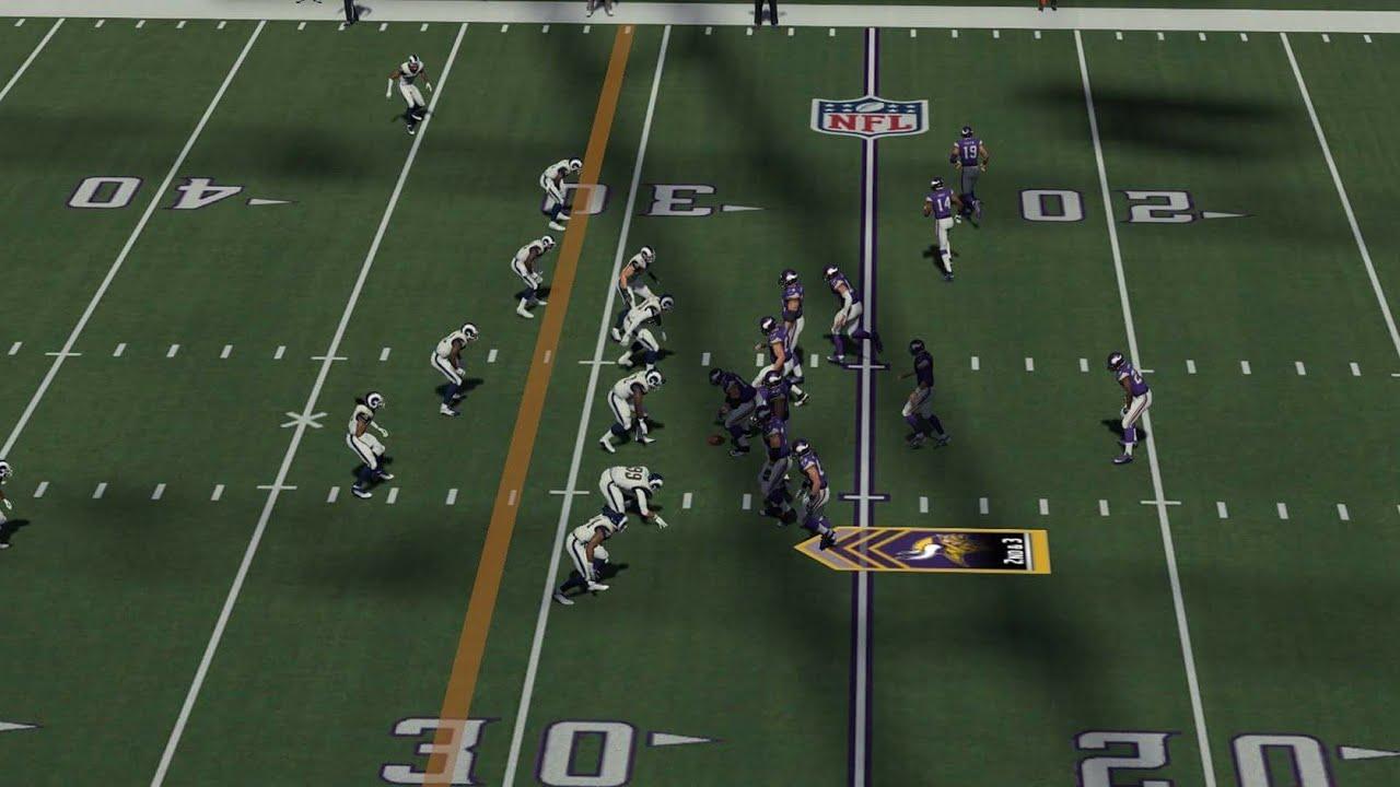 c7ae00da NFL 2017 Week 11 - Los Angeles Rams vs Minnesota Vikings - 2nd Half -  Madden NFL 18 CPU SIM - HD