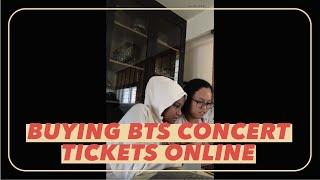 Buying BTS concert tickets online