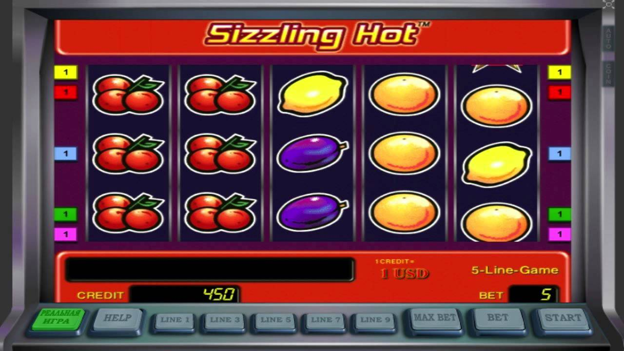 Sizzling Hot Slot Machine Free Play