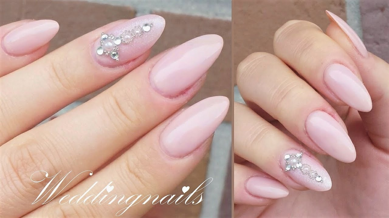 Weddingnails 1 Gelnägel Selber Machen Danana Youtube