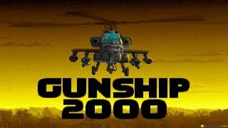 Gunship 2000 gameplay (PC Game, 1991)