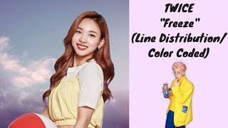 "How TWICE would sing ""Freeze"" by MOMOLAND"