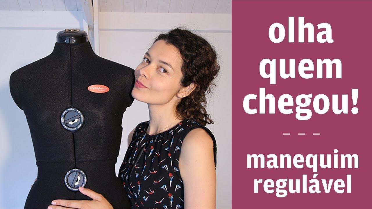ad3f737df Unboxing  o manequim do concurso Burda Talent Alemanha by    Patricia  Cardoso - Costura