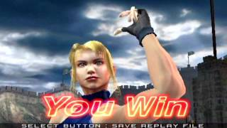 Virtua Fighter 4 (PlayStation 2) Arcade as Sarah