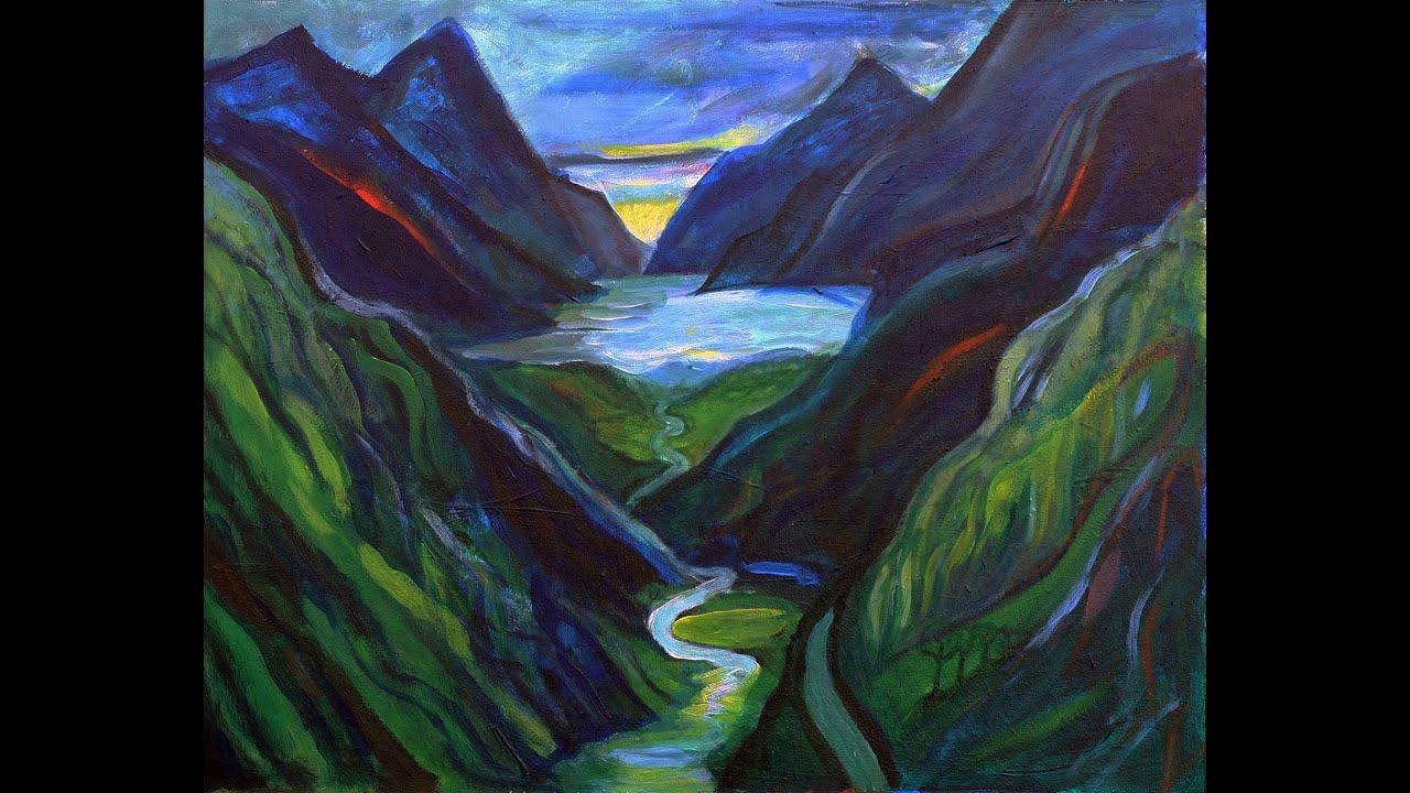 Sarah's paintings at the Gairloch Museum through 12 September.