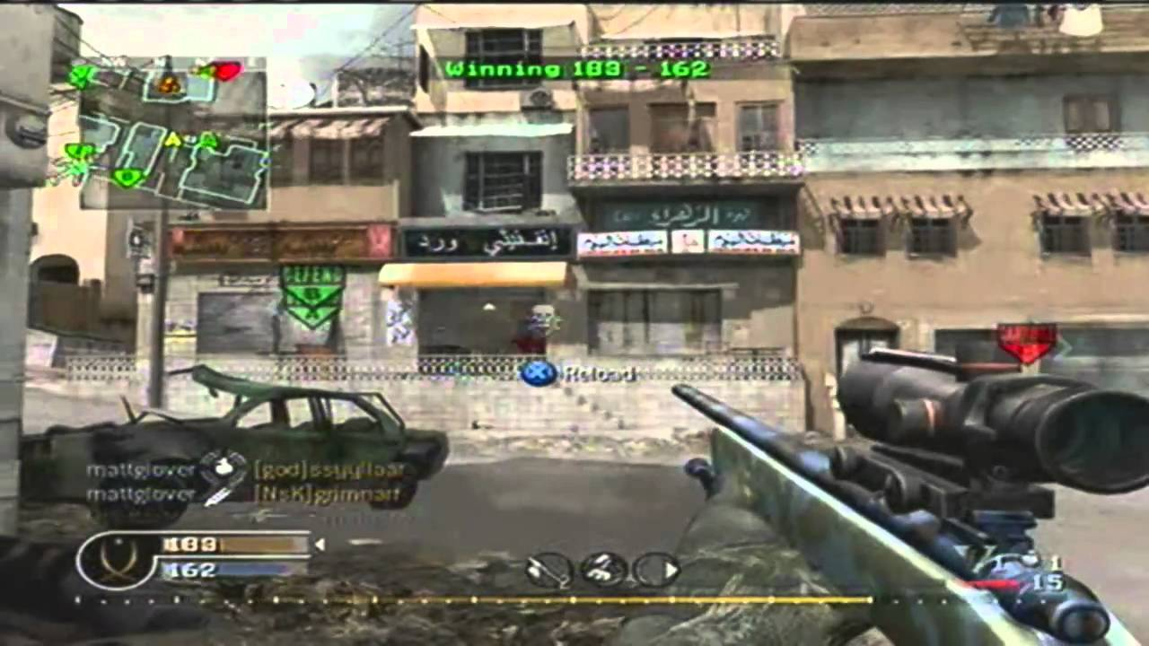 Call of Duty 4 - Montage 1# - Druskater
