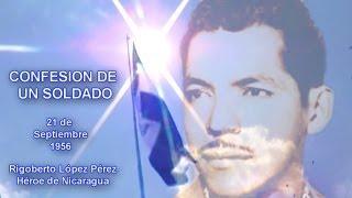 Canción Confesion de un Soldado Teaser Poema de Rigoberto López Pérez - Dayan Morales Molina