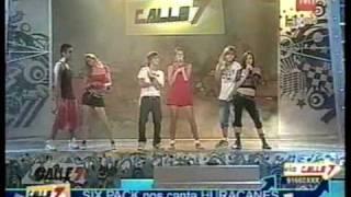 Huracanes - SixPack en Calle 7 para TVN