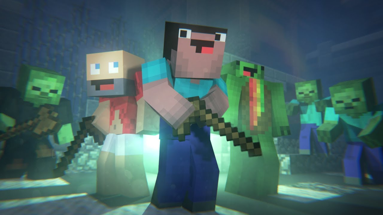 Zombies minecraft animation hypixel download - Zombie style minecraft ...