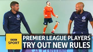 New Premier League Rules: WWE walk-ons, nutmegs count double & 'shirts v skins' - BBC Sport
