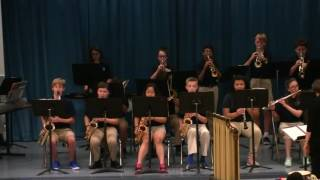 2016 TCMS final jazz band