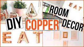 DIY ROOM DECOR - Roségold/Kupfer - TheBeauty2go