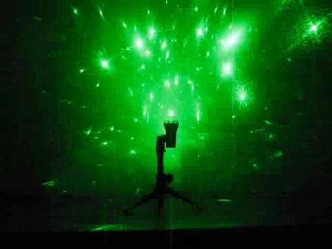 Diamond Ring Light Show Skylasers 150mw Green Laser