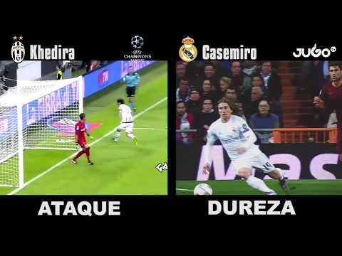 Champions League: Sami Khedira vs Casemiro