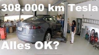 Tesla Model S85 mit 308.000 Kilometer. Was ist defekt ?