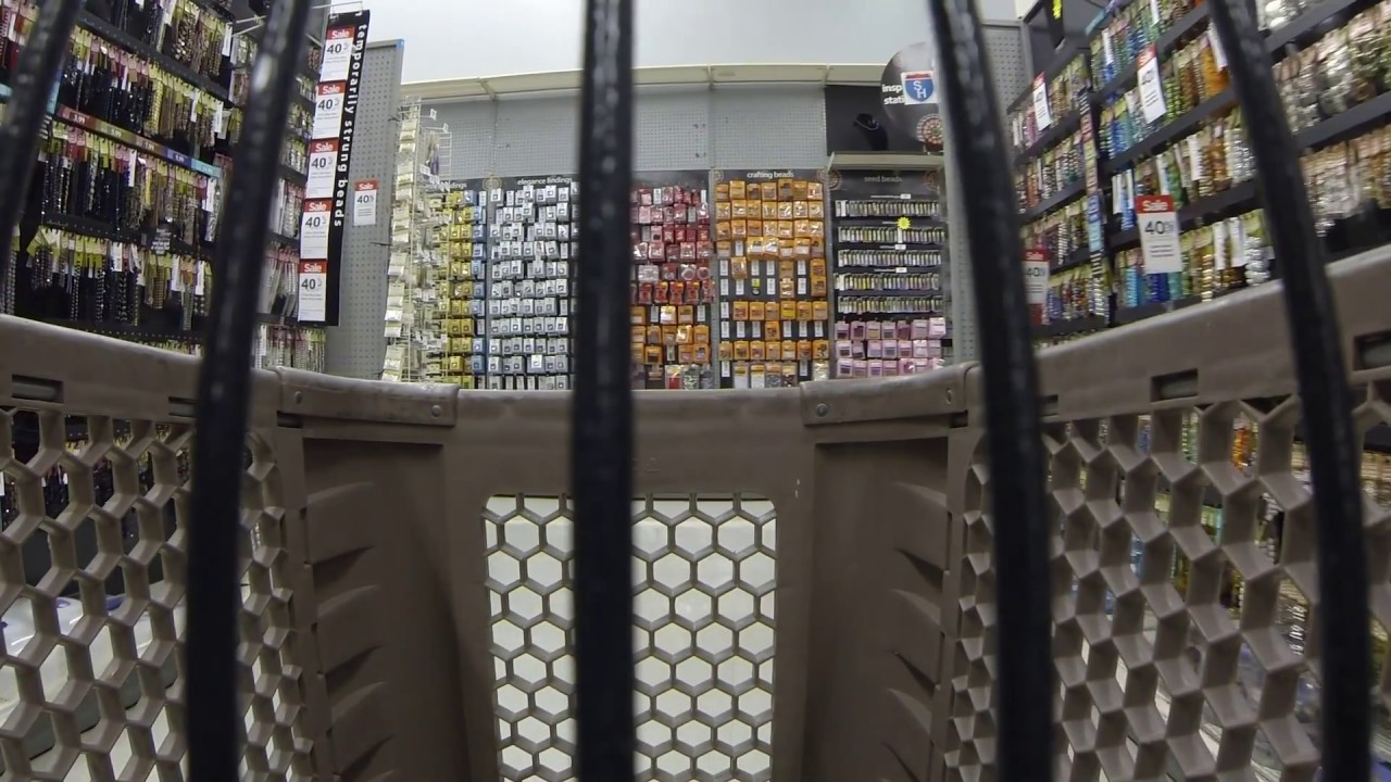 Michael 39 s arts and craft store shopping cart tour part 2 for Michaels craft store watches