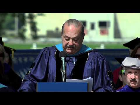 GW Commencement 2012: Carlos Slim - YouTube