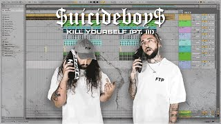 """""""Kill Yourself (Pt. III)"""" - $uicideBoy$ Beat Remake in Ableton 