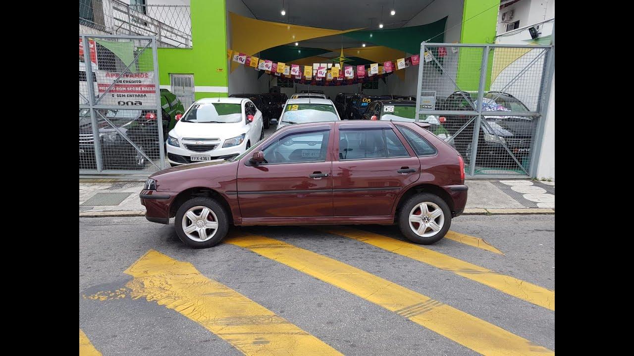 VW/GOL 1.0 OURO COMPLETO AR 2000 TEM SCORE BAIXO LIGA AGORA!