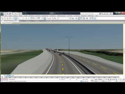 AutoCAD Civil 3D 2014 & 3ds Max