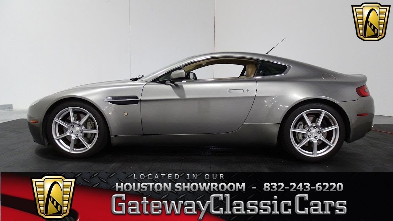 Aston Martin Vantage Gateway Classic Cars Stock In The - Aston martin houston