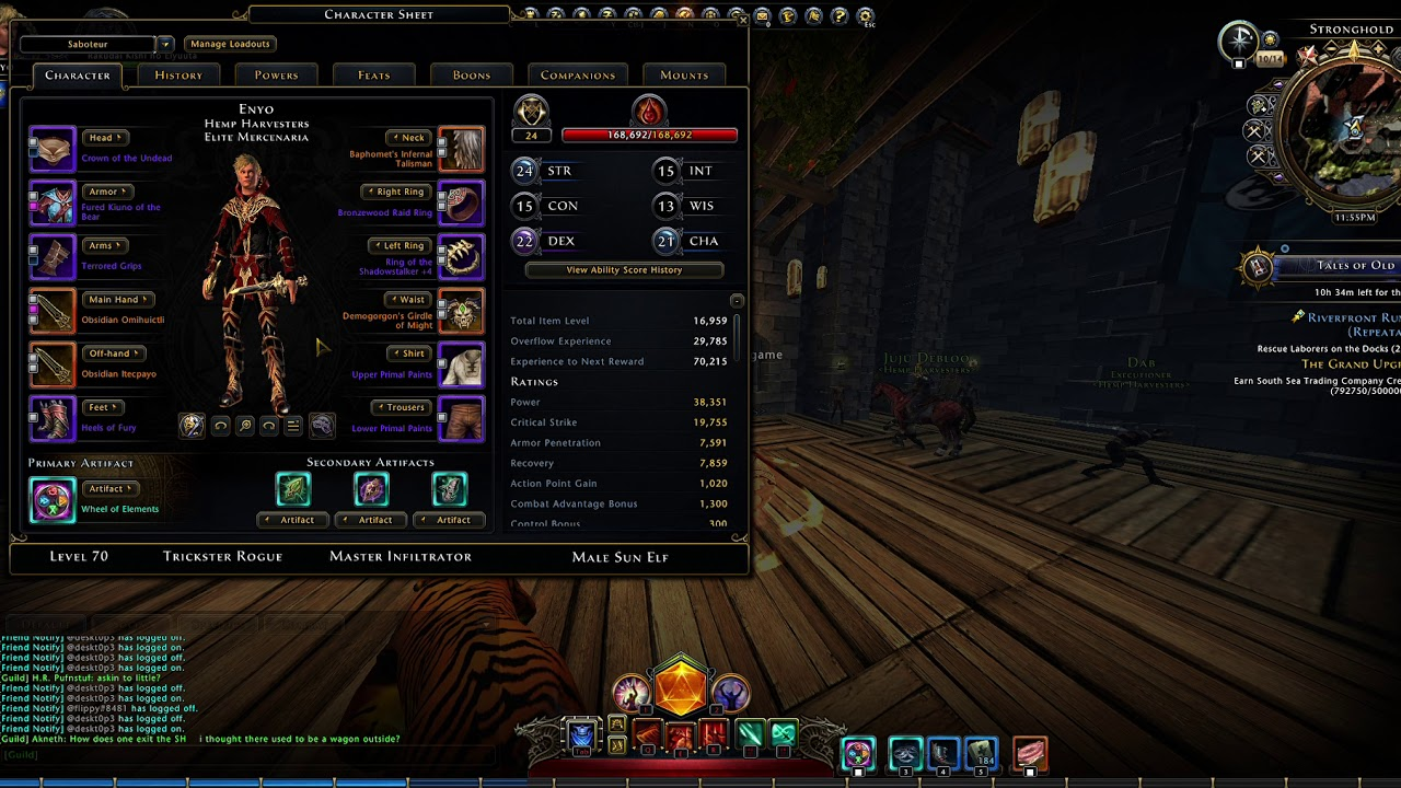 Scourge warlock mod 16