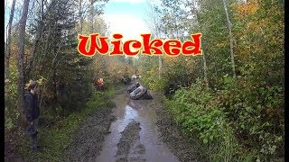 Epic Wicked ATV UTV Trail Mud Benders Ride pt 1