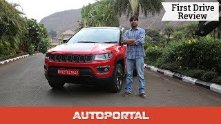 Jeep Compass Trailhawk – First Drive Review – Autoportal
