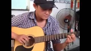 Tình đơn côi guitar solo [Mitxi Tòng]