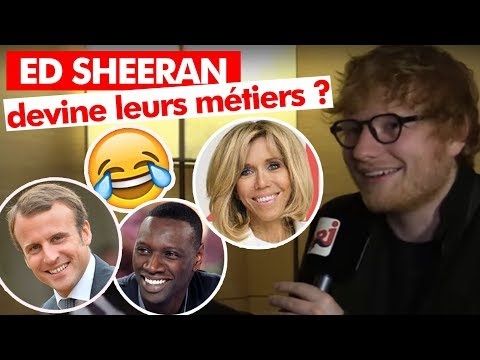Interview Ed Sheeran  - Guillaume Radio sur NRJ