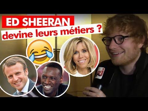 Ed Sheeran devine les metiers de personnalités françaises - Guillaume Radio sur NRJ
