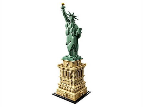 Instructions For Lego 21042 Statue Of Liberty Youtube