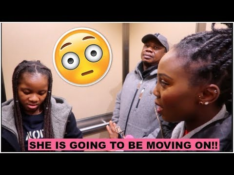 SHE IS MOVING ON!!