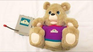 Teddy Ruxpin using VHS Video Cassettes?  Meet TV Teddy!