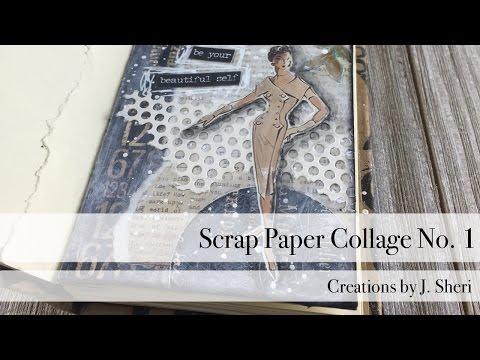 Scrap Paper Collage No. 1