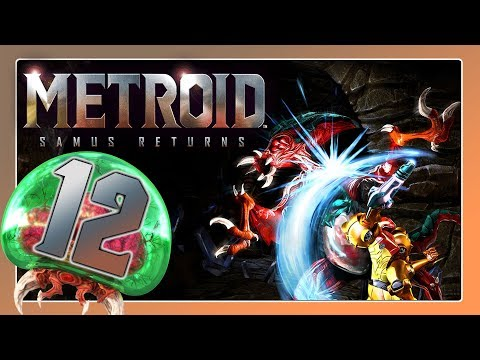 🔴 METROID: SAMUS RETURNS Part 12: Omega-Metroid zwischen Zone 5 & 6!