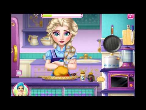 Elsa Real Cooking Frozen