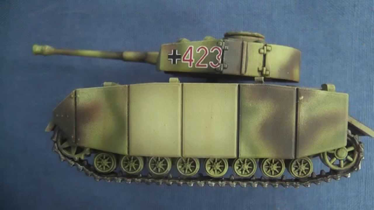 15mm Panzer IV painting log: filter, decals & weathering