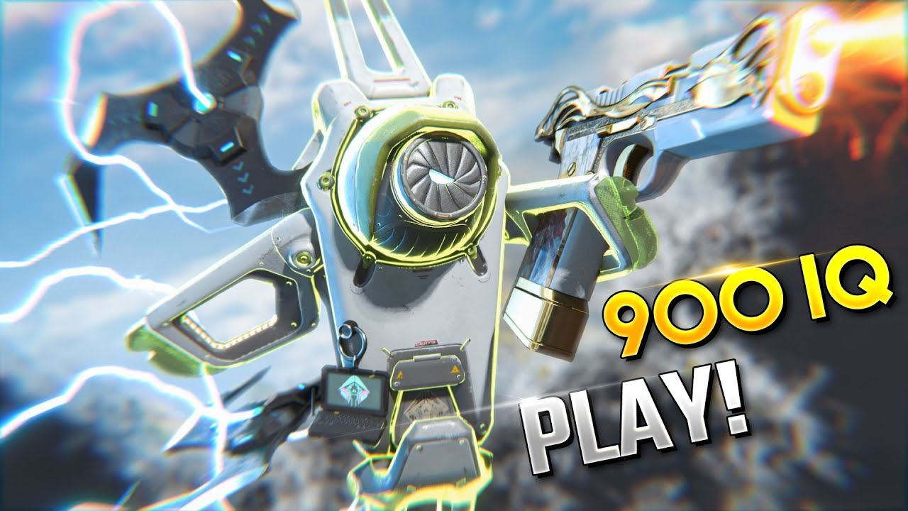 """The """"BEST* Crypto PLAY YOU'LL EVER SEE!! - Best Apex Legends Funny Moments and Gameplay Ep 358 4"""